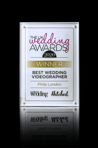 Best Wedding Videographer - UK Wedding Awards 2020